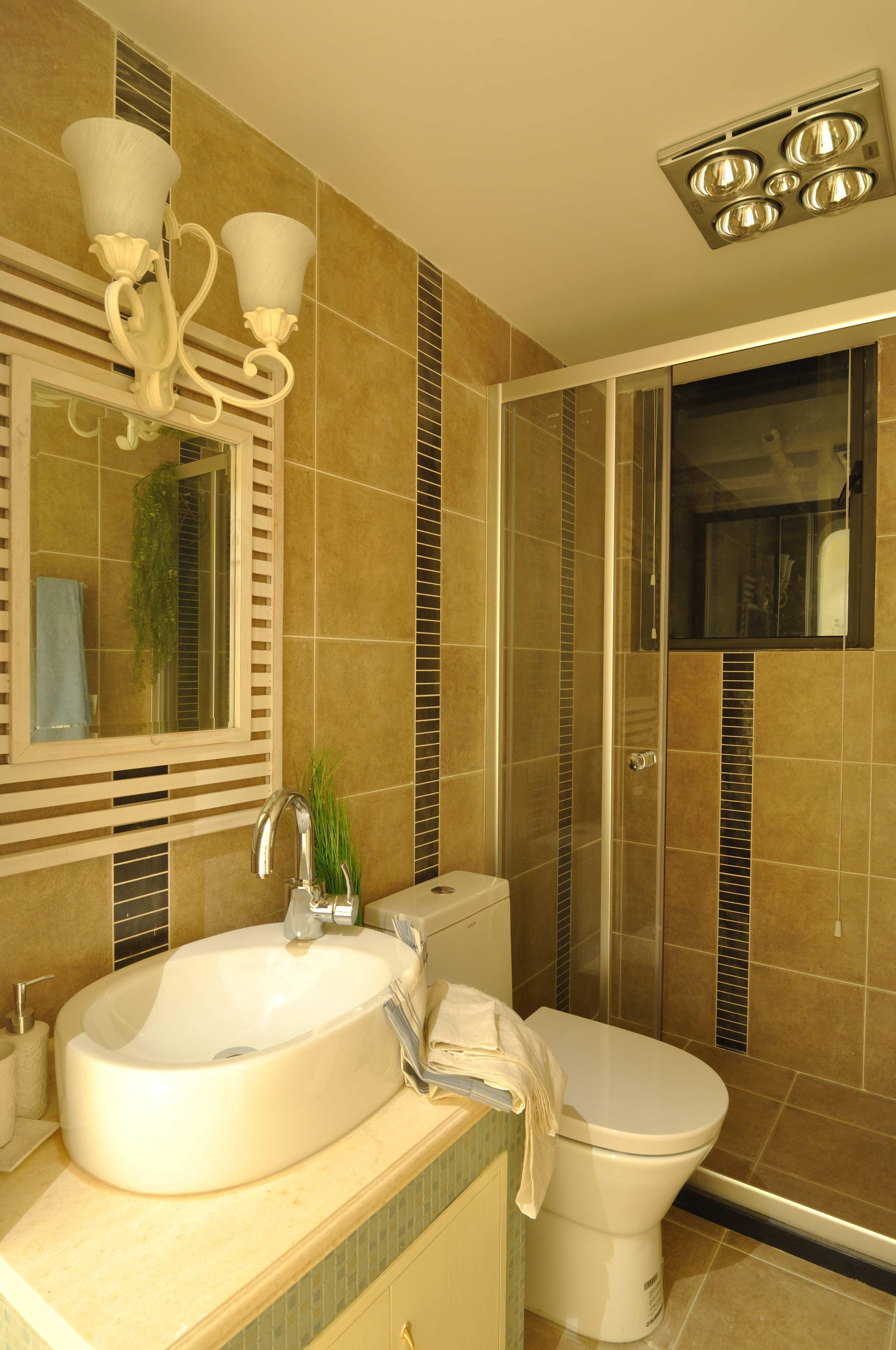 卧室 客厅 餐厅 卫生间 二居 地中海 天下锦城 温馨 卫生间图片来自合肥生活家在天下锦城的分享