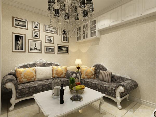 该户型畅园里一室一厅一厨一卫33㎡。我设计的是一简欧风格的作品。