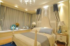 卧室 客厅 餐厅 卫生间 二居 地中海 天下锦城 温馨 卧室图片来自合肥生活家在天下锦城的分享