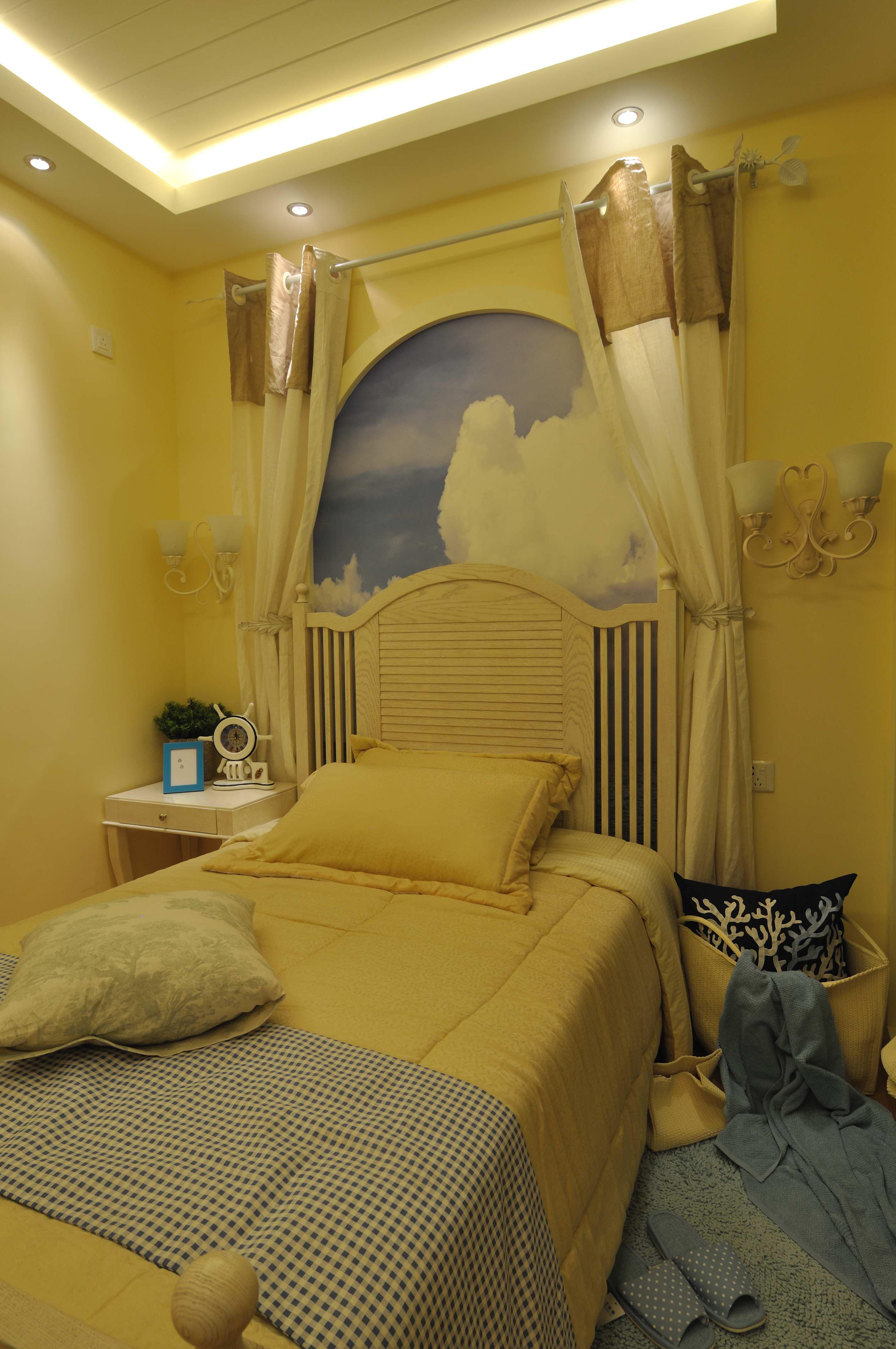 卧室 客厅 餐厅 卫生间 二居 卧室图片来自合肥生活家在天下锦城的分享