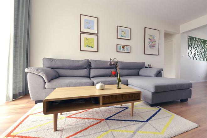 客厅图片来自四川岚庭装饰工程有限公司在98平米日式喵星人两居室的分享