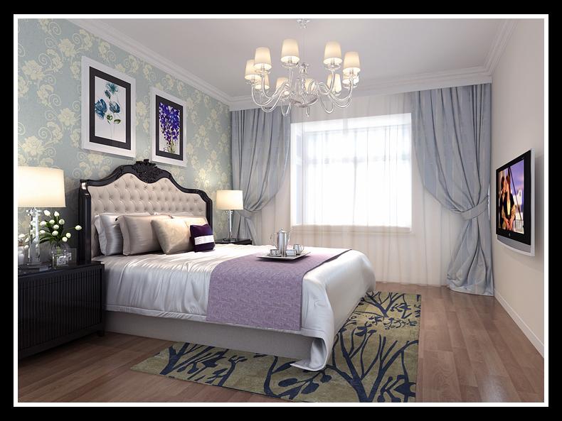 卧室图片来自合肥生活家在柏悦公馆-183平-简欧风格的分享