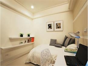 北欧 温馨 128平 三居 卧室图片来自北京精诚兴业装饰公司在128平北欧田园风格温馨公寓的分享