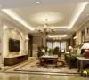 达美D6区美式风格四居室