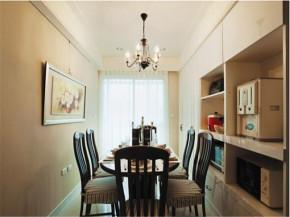 北欧 温馨 128平 三居 餐厅图片来自北京精诚兴业装饰公司在128平北欧田园风格温馨公寓的分享