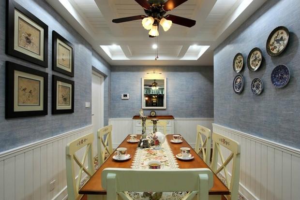 餐厅图片来自装饰装修-18818806853在亚运城地中海风格三居室装修的分享