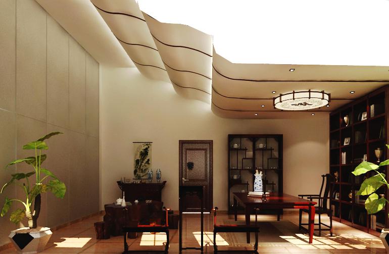 森林湖 新中式 三居 卧室图片来自郑州实创装饰啊静在森林湖新中式三居的分享