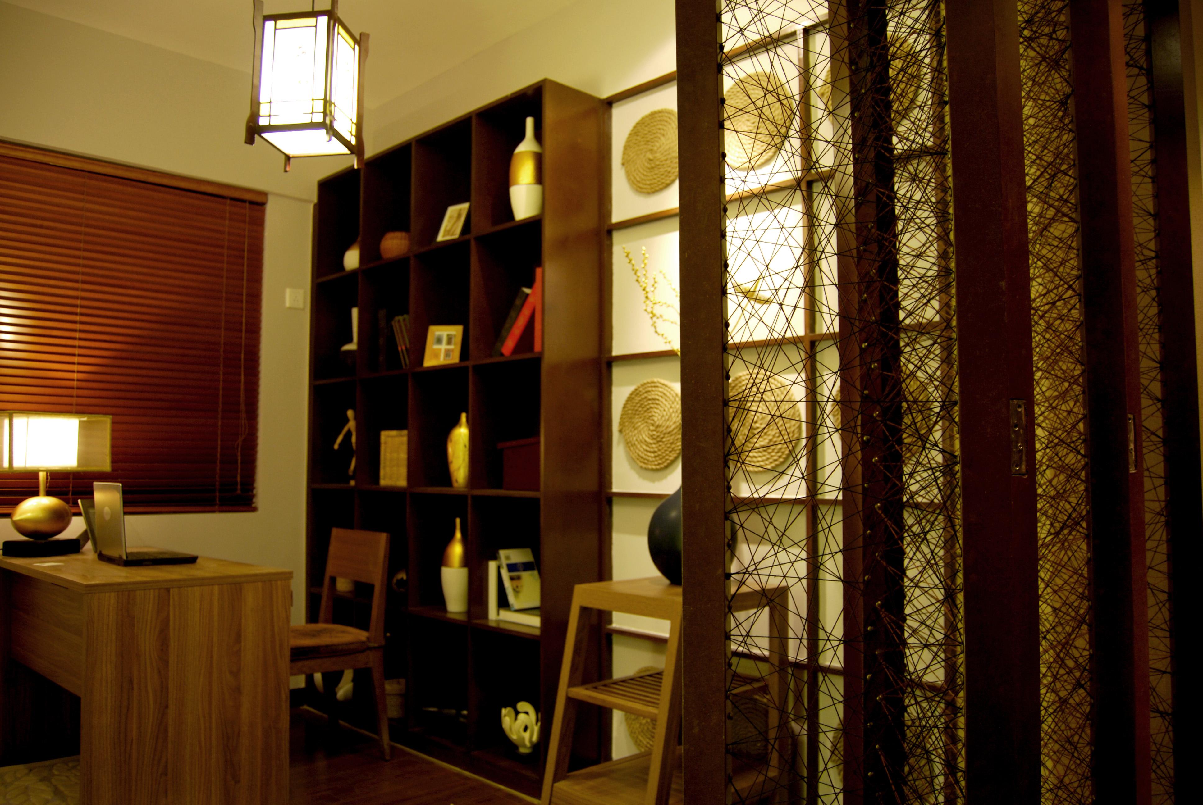 书房图片来自合肥生活家在保利拉菲公馆-136-乡村风格的分享