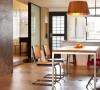 工业简约风个性公寓装修效果图