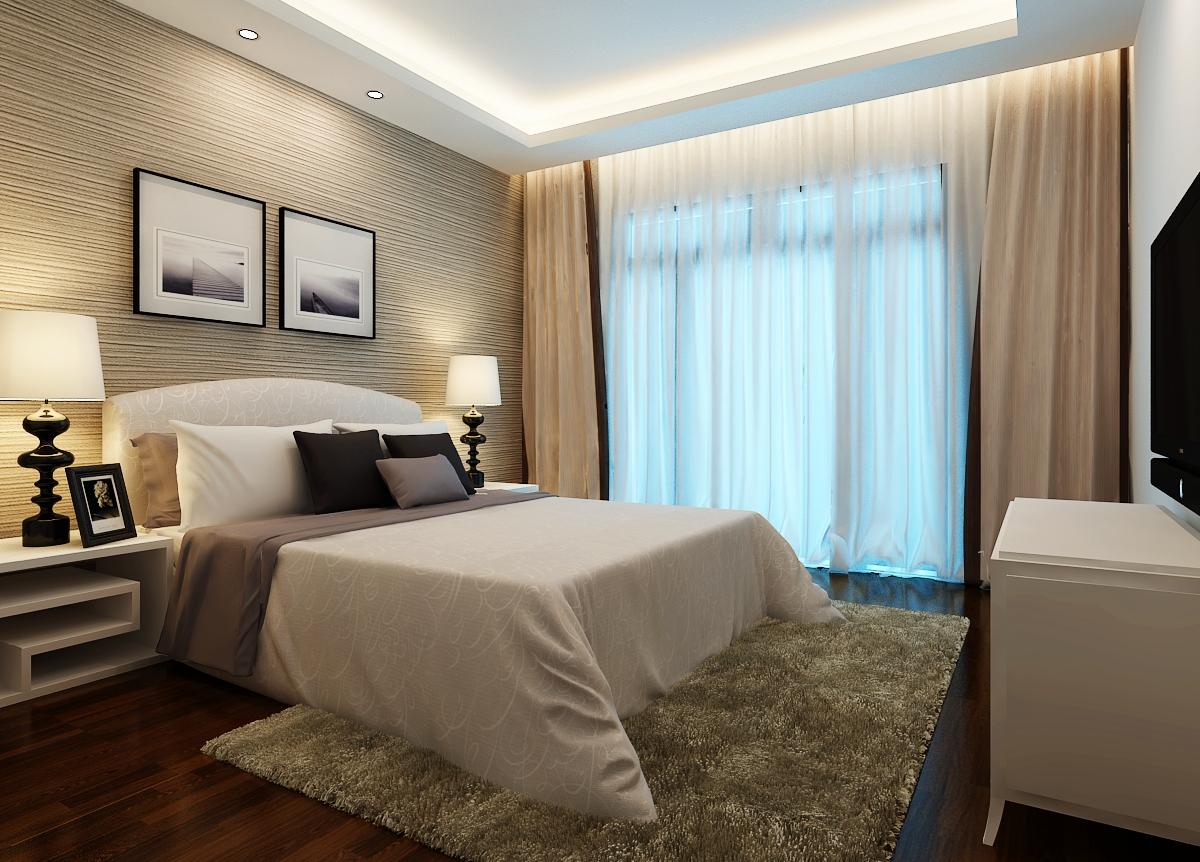 紫荆华庭 现代简约 两居 卧室图片来自郑州实创装饰啊静在绿都紫荆华庭现代简约两居的分享