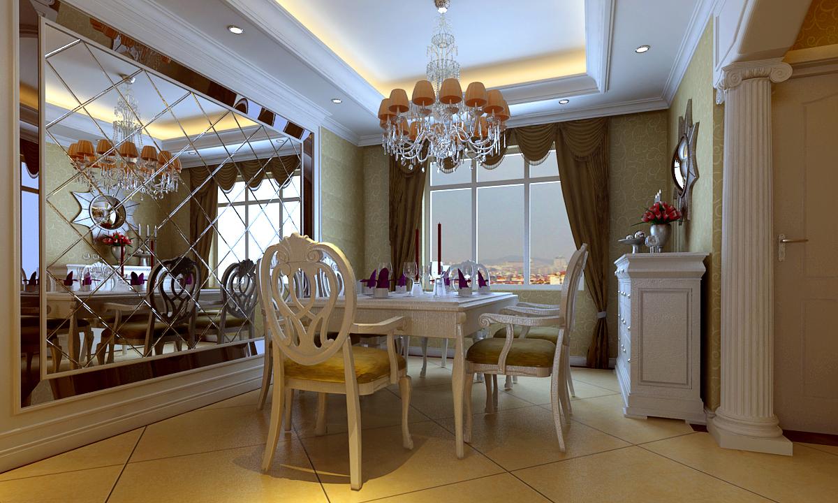 欧式 三居 餐厅图片来自深圳嘉道装饰在烟草局的分享
