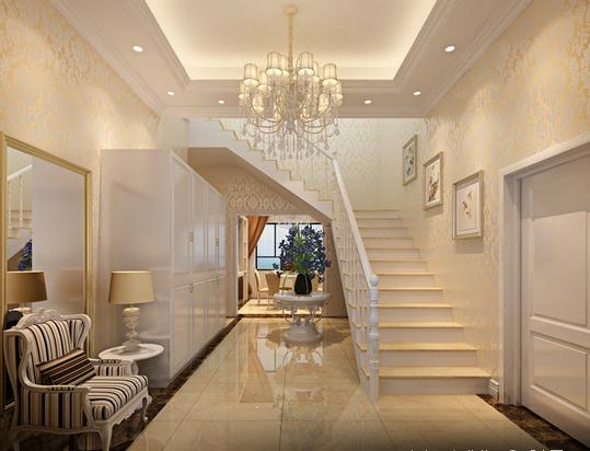 楼梯图片来自天津印象装饰有限公司在都市新居装饰 案例赏析2015-10-3的分享