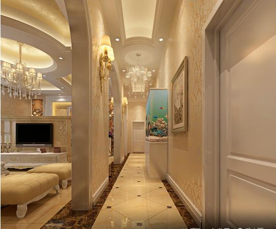 玄关图片来自天津印象装饰有限公司在都市新居装饰 案例赏析2015-10-3的分享