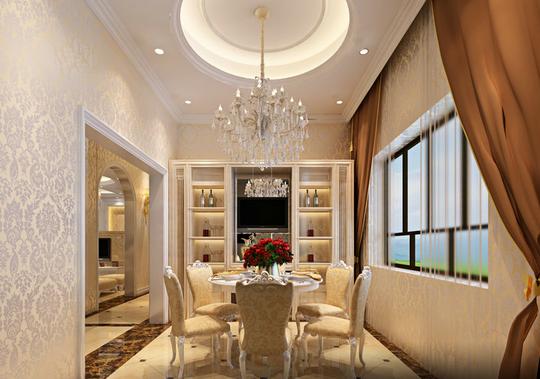 餐厅图片来自天津印象装饰有限公司在都市新居装饰 案例赏析2015-10-3的分享