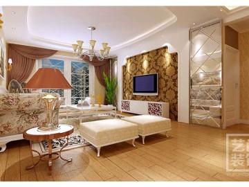 升龙天汇广场88平方两室装修