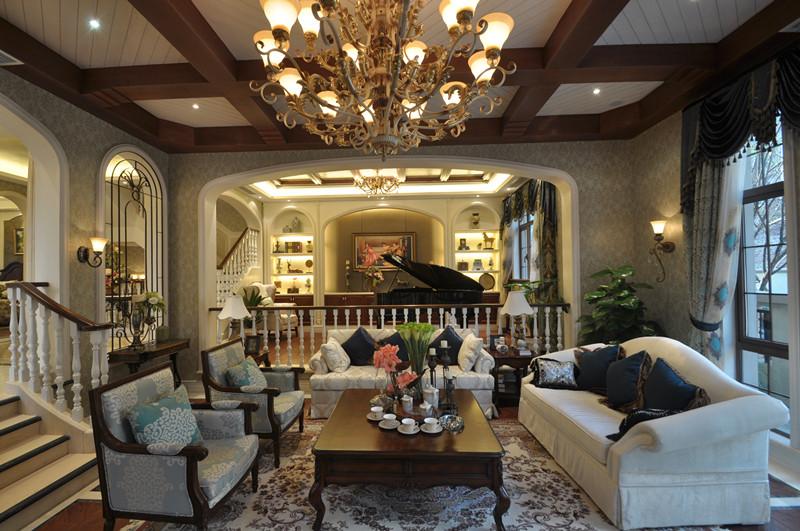 美式 别墅 白领 小资 客厅图片来自北京装修设计o在拉斐水岸之美式风格装修设计的分享