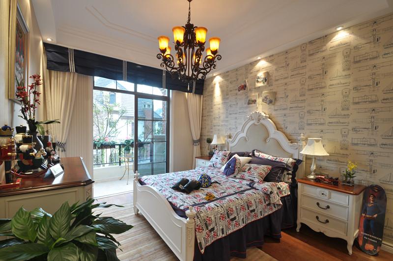 美式 别墅 白领 小资 儿童房图片来自北京装修设计o在拉斐水岸之美式风格装修设计的分享