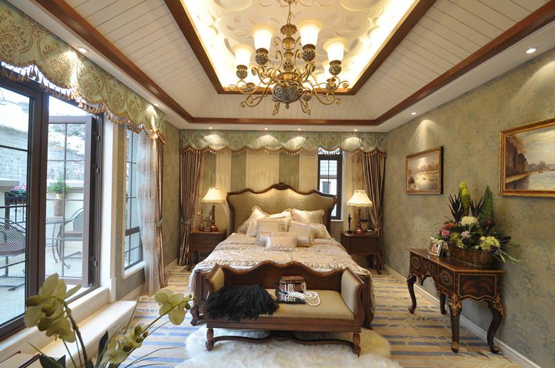 美式 别墅 白领 小资 卧室图片来自北京装修设计o在拉斐水岸之美式风格装修设计的分享