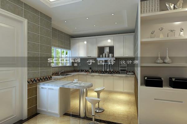 别墅 简约 厨房图片来自快乐彩在德郡联排现代简约装修的分享