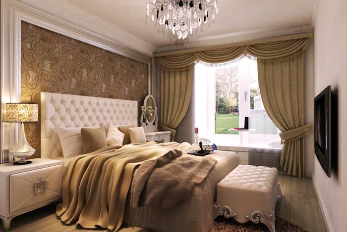 欧式 二居 白领 收纳 旧房改造 80后 小资 卧室图片来自今朝老房专家在和光里欧式风格装修的分享