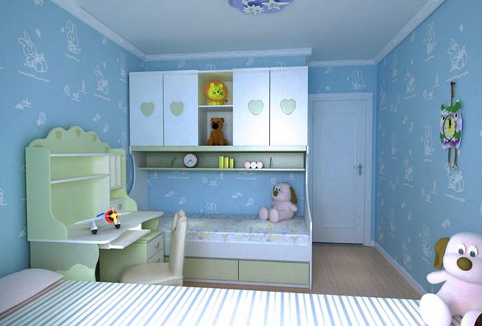 欧式 二居 白领 收纳 旧房改造 80后 小资 儿童房图片来自今朝老房专家在和光里欧式风格装修的分享