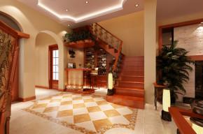 小资 三居 美式 温馨 收纳 楼梯图片来自合肥生活家在京城国际-176平-美式风格的分享