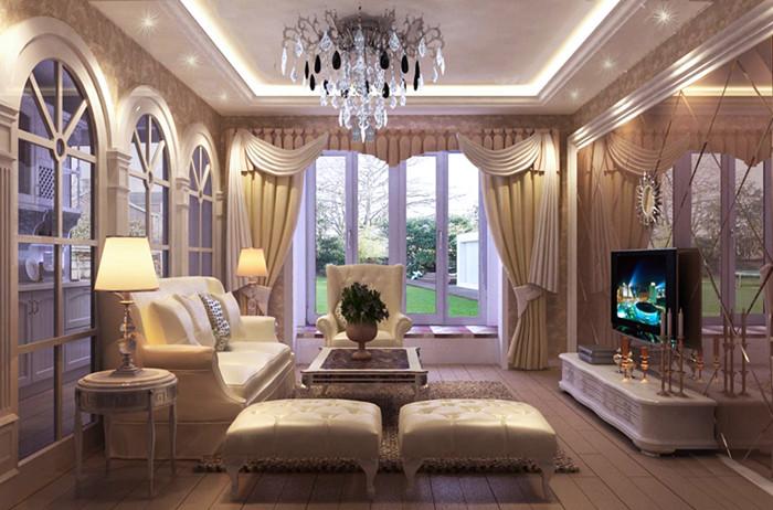 欧式 二居 白领 收纳 旧房改造 80后 小资 客厅图片来自今朝老房专家在和光里欧式风格装修的分享