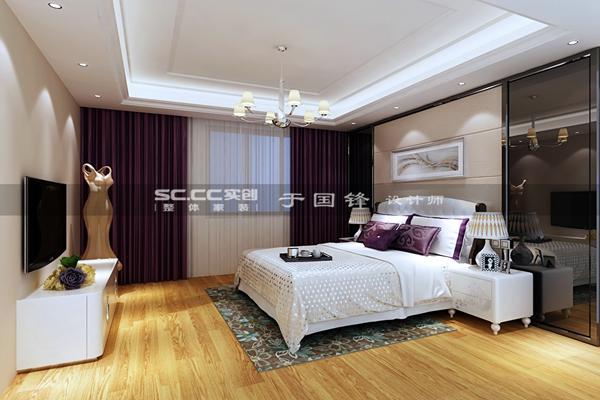 别墅 简约 卧室图片来自快乐彩在德郡联排现代简约装修的分享