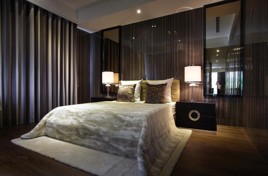 新古典 简约 卧室图片来自紫禁尚品设计师李擎在江南山水新古典简约风的分享