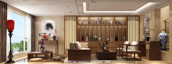 九号公馆休闲区细节效果图----高度国际装饰设计