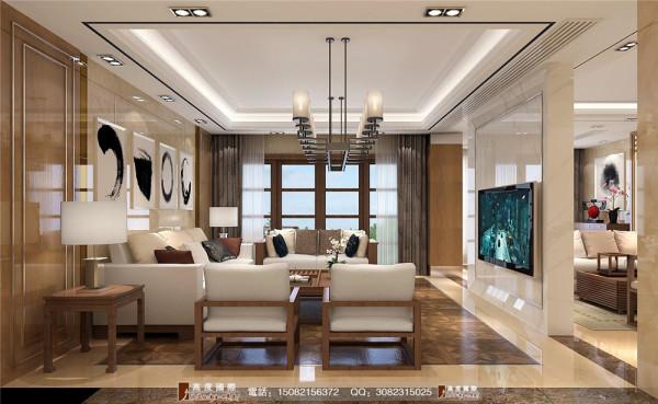 九号公馆客厅细节效果图----高度国际装饰设计