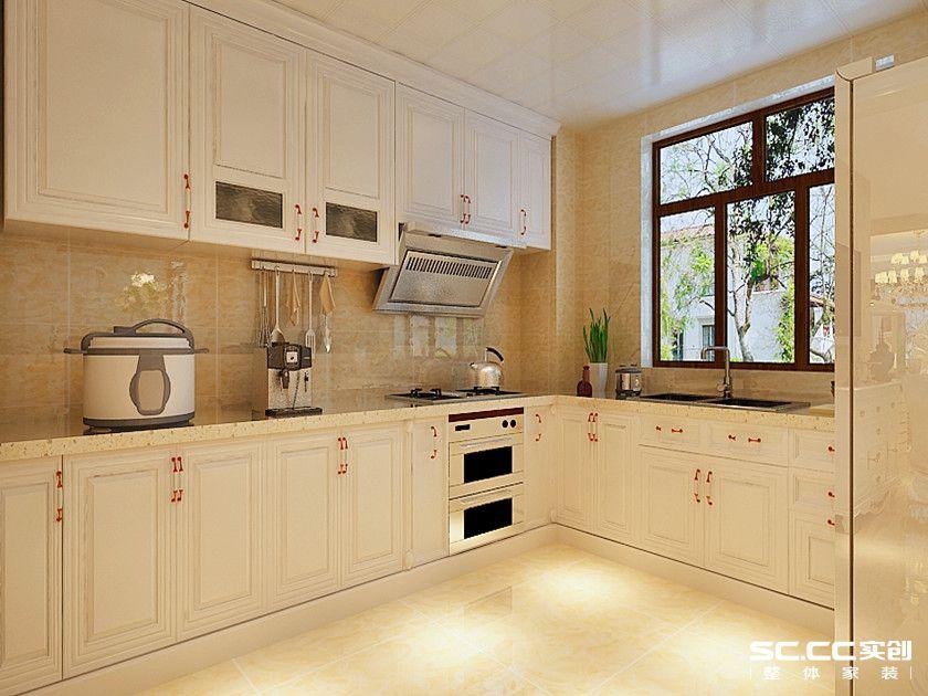 三居 欧式 白领 80后 小资 厨房图片来自实创苗苗在【实创装饰】西沣公元欧式风格的分享