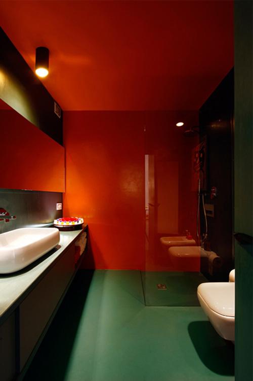 混搭 卫生间图片来自四川岚庭装饰工程有限公司在65平米多彩小户型公寓的分享