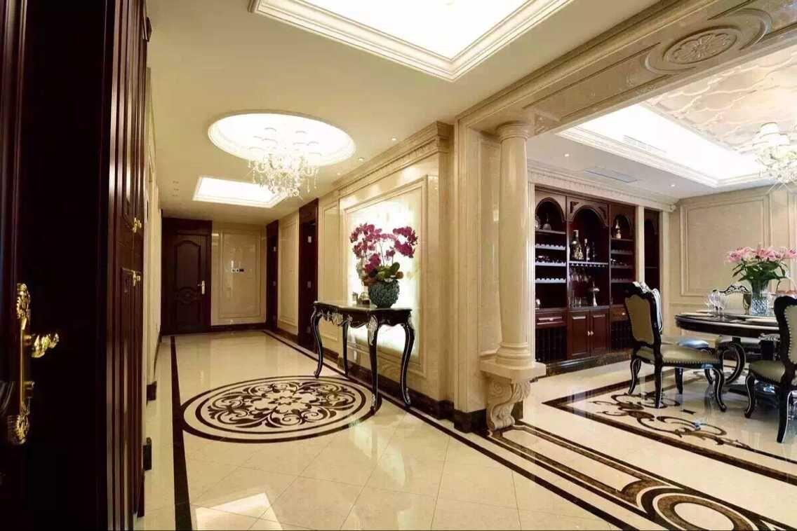欧式 混搭 玄关图片来自有家装饰费欢在【有家装饰】新古典欧式风格实景的分享