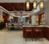 世茂玲珑台中式设计