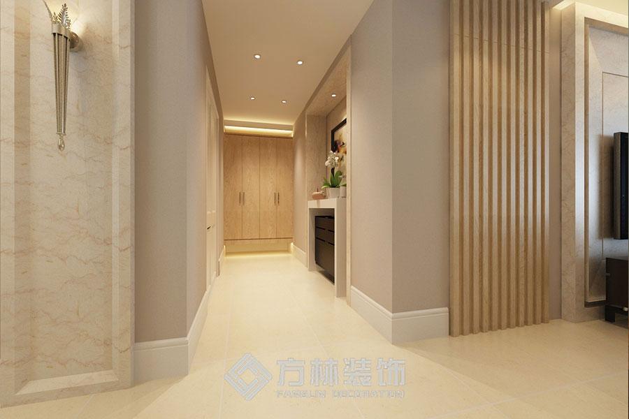 金地名京 港式 玄关图片来自方林装饰在金地名京180平港式风格的分享