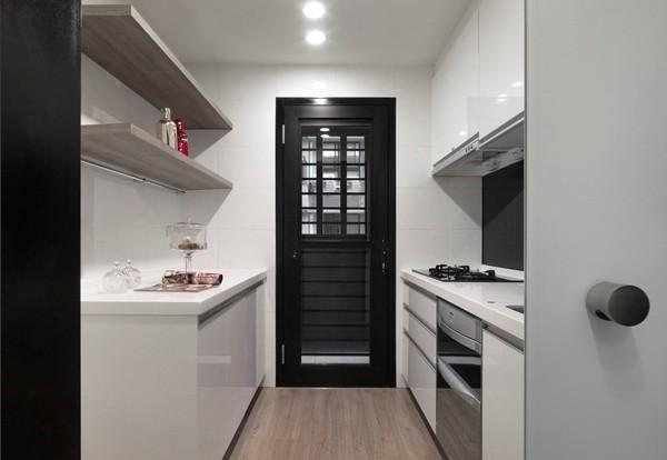 混搭 厨房图片来自四川岚庭装饰工程有限公司在70平米混搭风一居室的分享