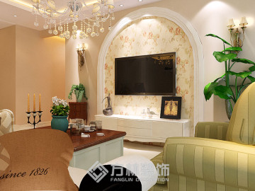 中海国际雍和119美式田园风格