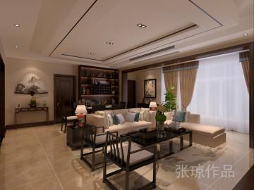 西安业之峰装饰—香榭兰廷新中式