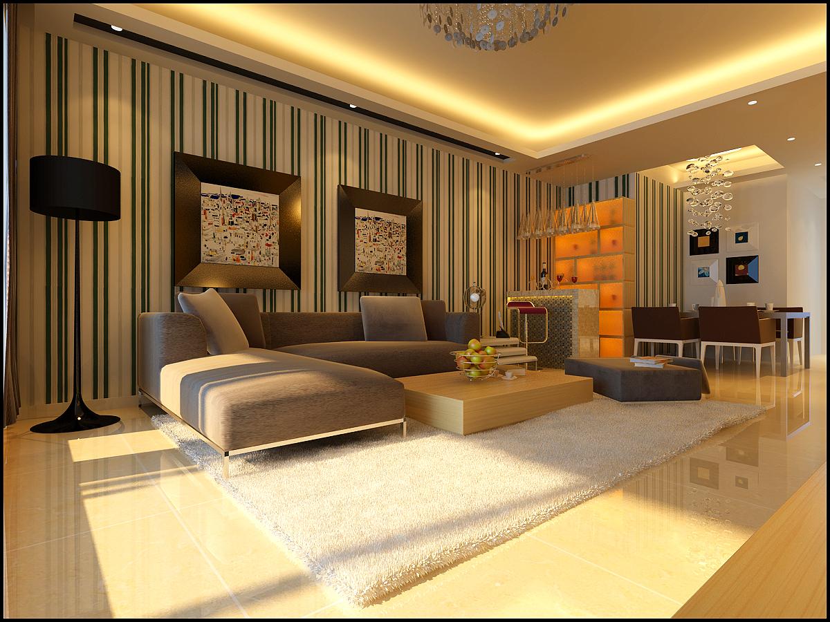 简约 二居 客厅图片来自北京今朝装饰郭风在润枫锦尚的分享