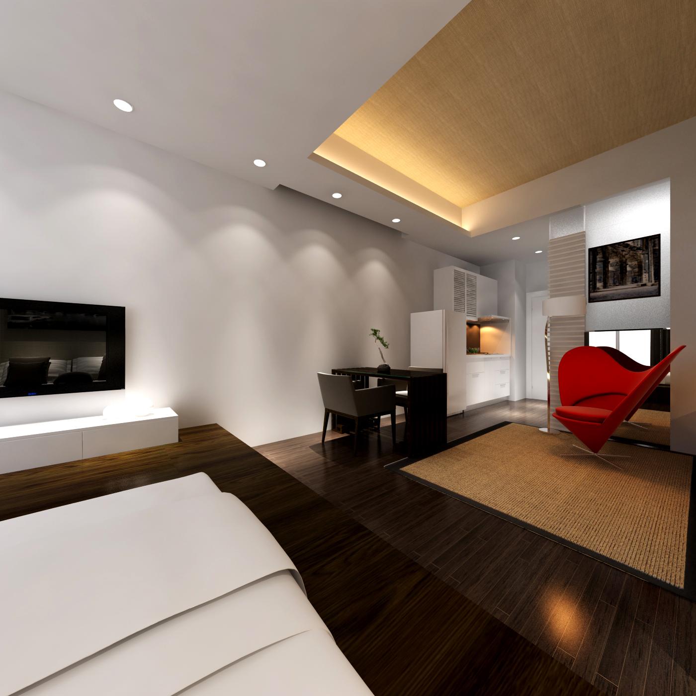现代简约 收纳 旧房改造 白领 卧室图片来自北京今朝装饰郭风在民岳家园的分享