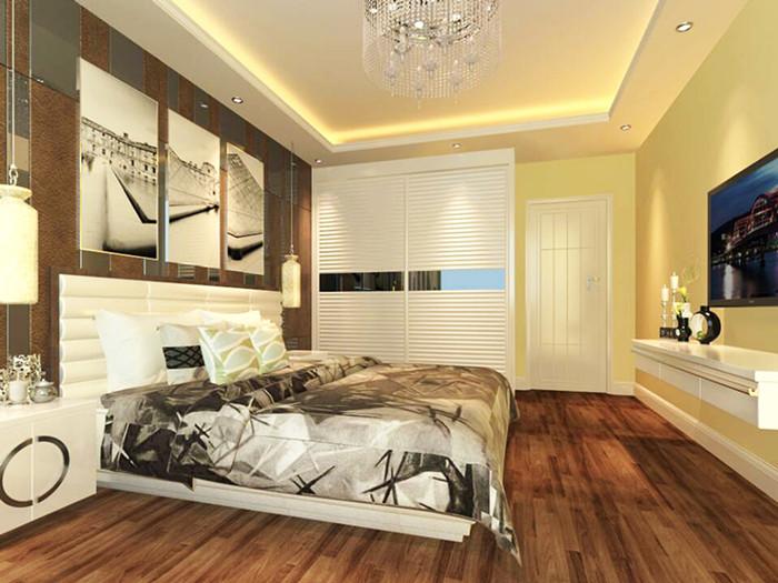 现代 复式 卧室图片来自北京今朝装饰郭风在融科君庭的分享