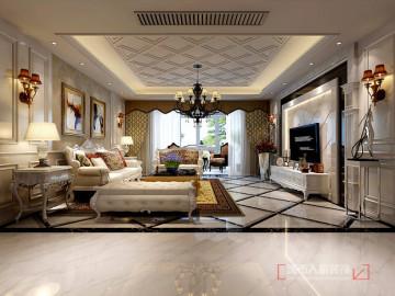 紫薇永和坊295平米新古典风格