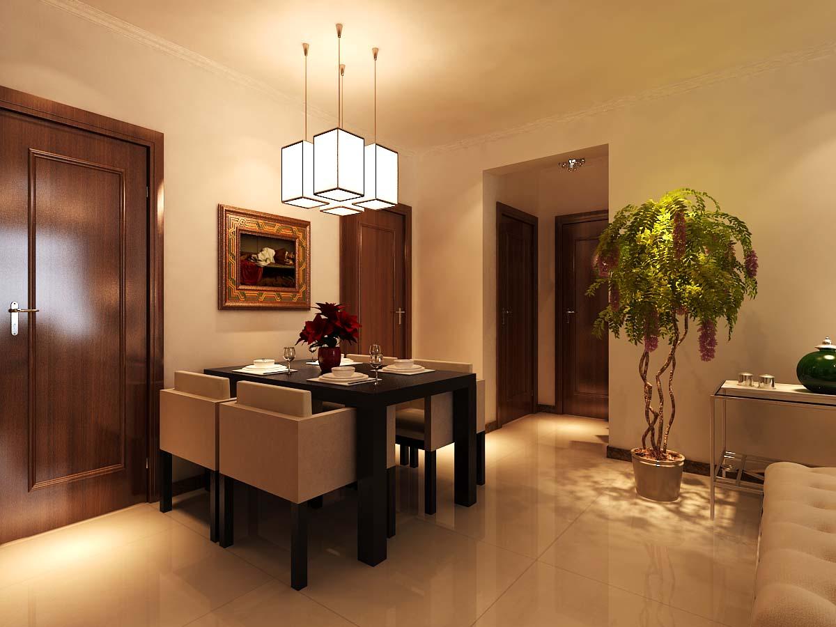 简约 二居 时尚 餐厅图片来自太原金尚装饰王卓娅在温馨时尚-府东公馆-89平的分享