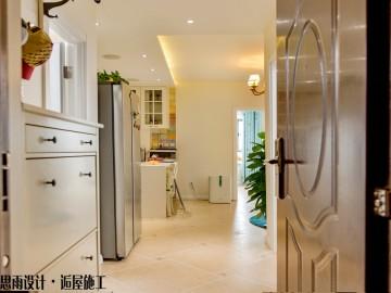 《简美时光》65平现代美式两居房