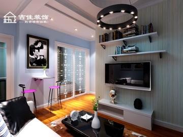 吉佳装饰|经典华城小公寓案例