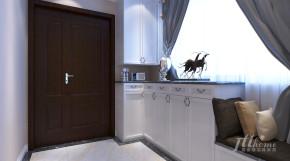 简约 三居 宜居 舒适 玄关图片来自居泰隆深圳在侨乡公馆现代简约三居室的分享