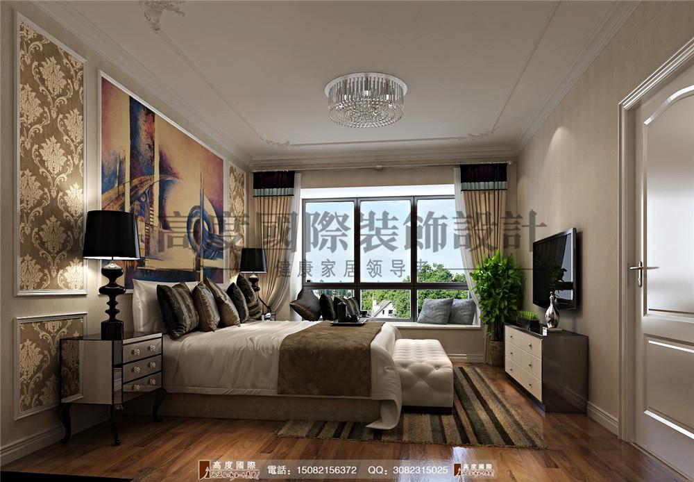 高度国际 成都装修 新房装修 装修图片 别墅装修 卧室图片来自成都高端别墅装修瑞瑞在新古典风格--高度国际装饰的分享
