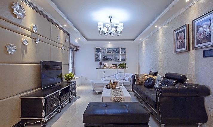 新古典 高端大气 有品位 客厅图片来自佰辰生活装饰在94平新古典两室两厅的分享