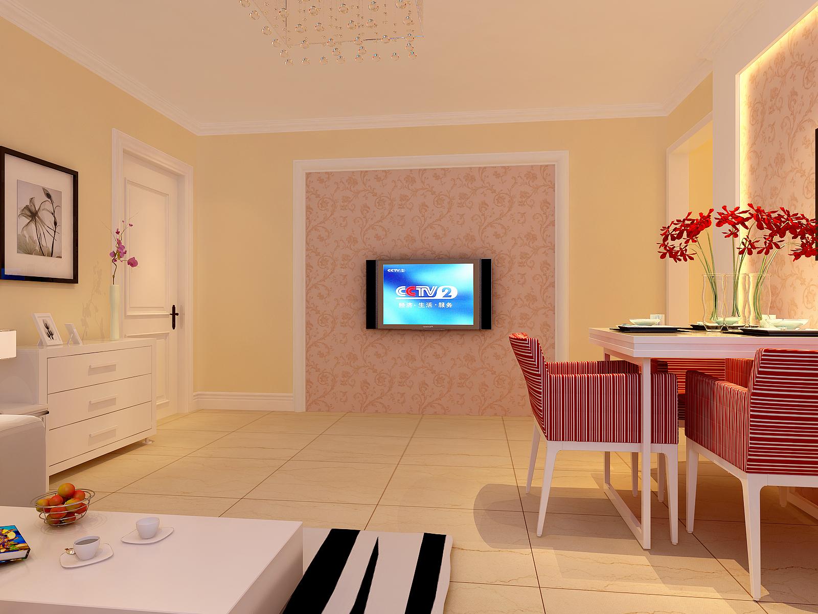 餐厅图片来自今朝装饰小徐在弘善家园 80平现代风格的分享